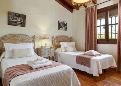 Bedroom #3 at Villa Loli, Frigiliana