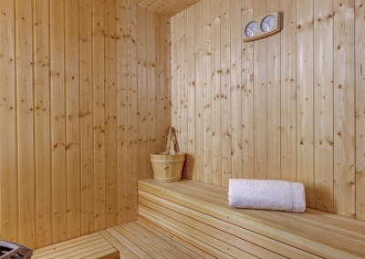 The sauna at Villa Loli, Frigiliana