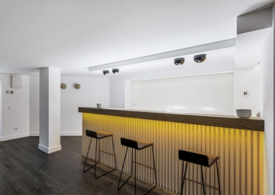 The bodega & bar at Villa Marques, Nueva Andalucía