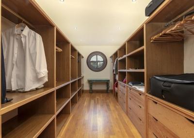Bedroom #1 walk-in closet at Villa Mastranto, El Paraíso