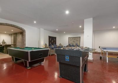 The games room at Villa Mastranto, El Paraíso