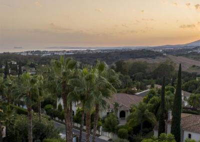 The fantastic view from Villa Mastranto, El Paraíso