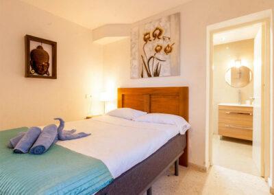 Bedroom #1 at Villa Rucula, Estepona