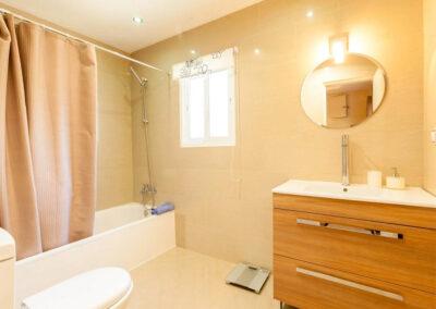 Bedroom #1 en-suite at Villa Rucula, Estepona