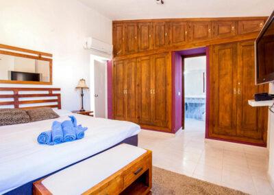 Bedroom #2 at Villa Rucula, Estepona