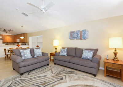 The living area at Watersong Resort 50, Davenport