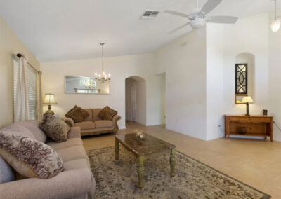 The formal living room at Watersong Resort 50, Davenport