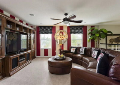The upstairs living area at Watersong Resort 6, Davenport, Florida