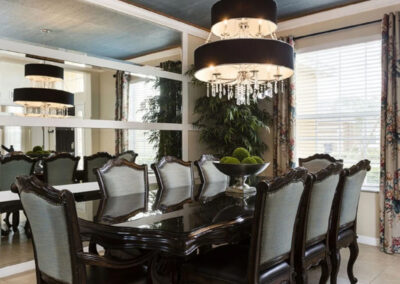 The dining area at Watersong Resort 6, Davenport, Florida