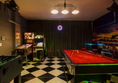 The games room at Watersong Resort 6, Davenport, Florida