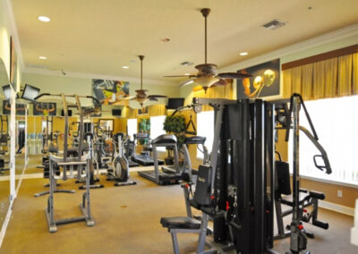 The fitness centre at Watersong Resort, Davenport, Florida