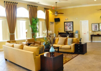 The clubhouse at Watersong Resort, Davenport, Florida