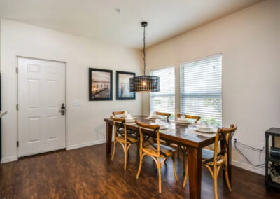 The dining area at West Lucaya Village 17, Kissimmee
