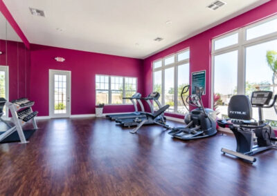 The fitness centre at West Lucaya Village, Kissimmee