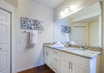 Bedroom #1 en-suite at West Lucaya Village 20, Kissimmee, Orlando