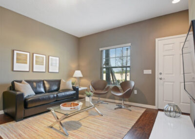 The living area at West Lucaya Village 5, Kissimmee, Orlando