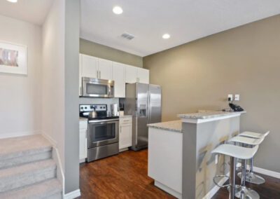 The kitchen at West Lucaya Village 5, Kissimmee, Orlando