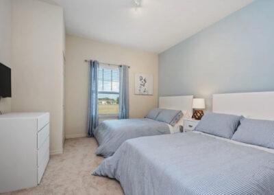 Bedroom #3 at West Lucaya Village 5, Kissimmee, Orlando