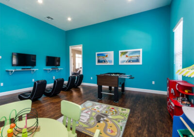 The communal kids room at West Lucaya Village, Kissimmee, Orlando
