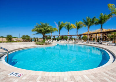 The swimming pool at West Lucaya Village, Kissimmee, Orlando