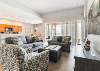 The living area at Windsor Hills Resort 382, Kissimmee