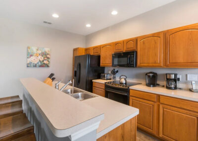 The kitchen at Windsor Hills Resort 382, Kissimmee