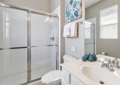 Bedroom #1 en-suite at Windsor Hills Resort 382, Kissimmee