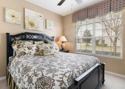 Bedroom #3 at Windsor Hills Resort 382, Kissimmee