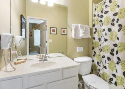 Bedroom #3 en-suite at Windsor Hills Resort 382, Kissimmee