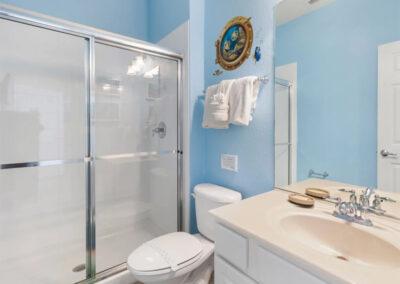Bedroom #4 en-suite at Windsor Hills Resort 382, Kissimmee