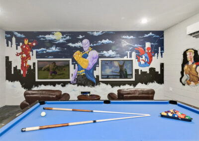 The games room at Windsor Hills Resort 382, Kissimmee