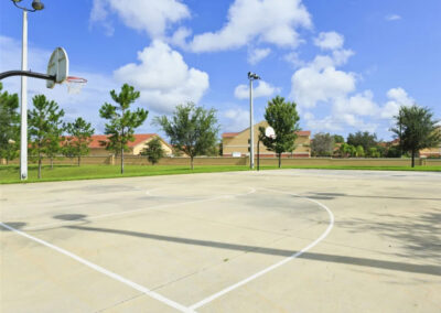 The sports courts at Windsor Hills Resort, Kissimmee
