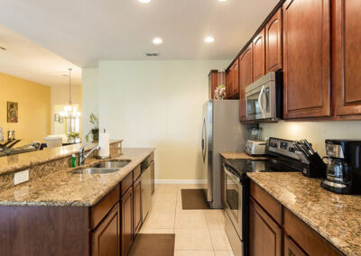 The kitchen at Windsor Hills Resort 515, Kissimmee