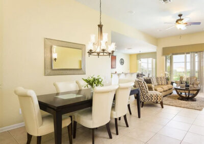 The dining area at Windsor Hills Resort 515, Kissimmee