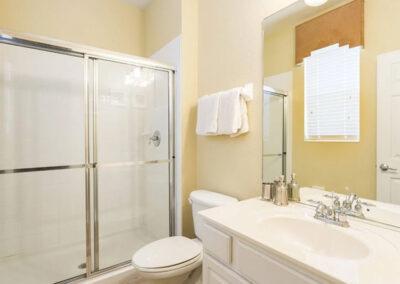 Bedroom #1 en-suite at Windsor Hills Resort 515, Kissimmee