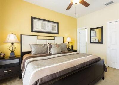 Bedroom #2 at Windsor Hills Resort 515, Kissimmee