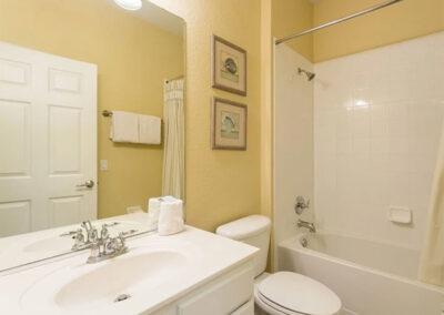 Bedroom #2 en-suite at Windsor Hills Resort 515, Kissimmee