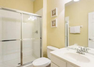 Bedroom #3 en-suite at Windsor Hills Resort 515, Kissimmee