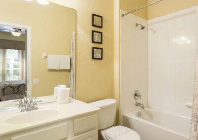 Bedroom #4 en-suite at Windsor Hills Resort 515, Kissimmee