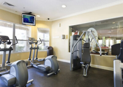 The fitness centre at Windsor Hills Resort, Kissimmee