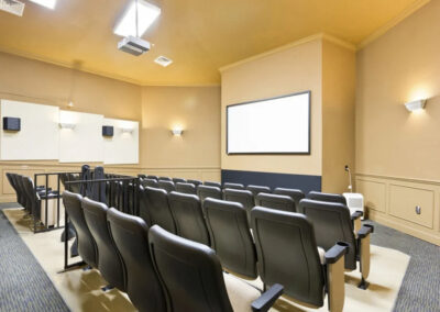 The movie theater at Windsor Hills Resort, Kissimmee