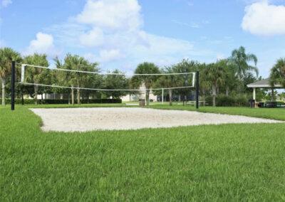 The beach volleyball court at Windsor Hills Resort, Kissimmee