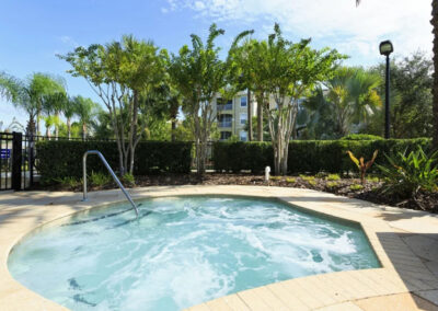The hot tub at Windsor Hills Resort, Kissimmee