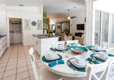 The kitchen at Windsor Palms Resort 21, Kissimmee, Orlando