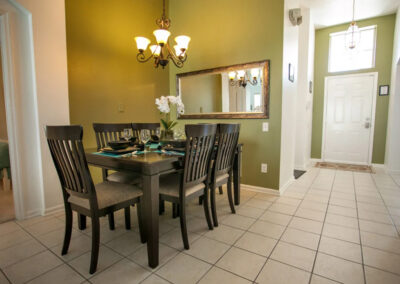 The dining area at Windsor Palms Resort 21, Kissimmee, Orlando