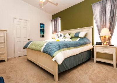 Bedroom #1 at Windsor Palms Resort 21, Kissimmee, Orlando