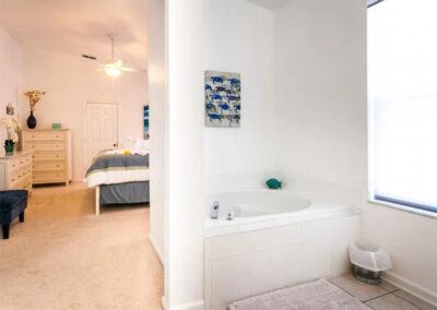 Bedroom #1 en-suite at Windsor Palms Resort 21, Kissimmee, Orlando