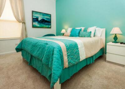 Bedroom #2 at Windsor Palms Resort 21, Kissimmee, Orlando