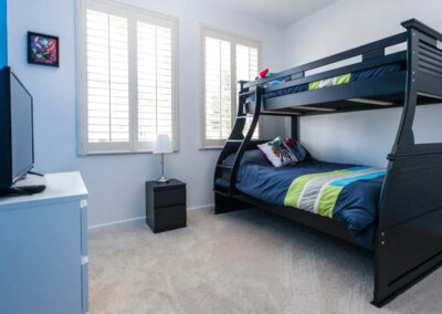 Bedroom #3 at Windsor Palms Resort 21, Kissimmee, Orlando