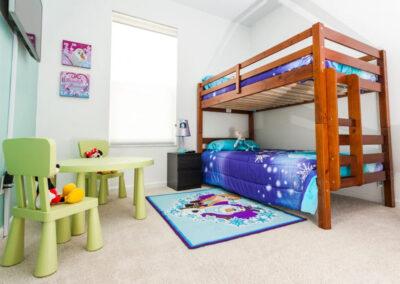 Bedroom #4 at Windsor Palms Resort 21, Kissimmee, Orlando